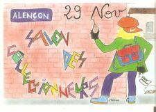 Orne Alençon Salon des collectionneurs 1998 Carte postale illustrée, sans numéro