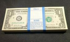 FULL  BUNDLE 2017 A $1-Sequentially numbered*100 DOLLAR  BILLS B05424101-200
