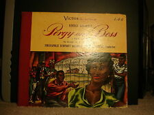 Victor DM-999 Fabien Sevitzky Indianapolis Symphony Orchestra - Porgy and Bess