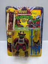 Vintage Teenage Mutant Ninja Turtles Movie III Samurai Raph 1992 (See Pictures)
