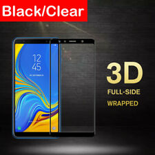 For Samsung Galaxy A7 2018 A750 3D Full Cover Tempered Glass Screen Protector Sl