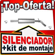 Silenciador intermedio SEAT TOLEDO IV SKODA RAPID 1.2 TSi desde 2012 Escape BFR