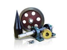 Screw Type Log Splitter electric motor 2 x pulley screw 80 m
