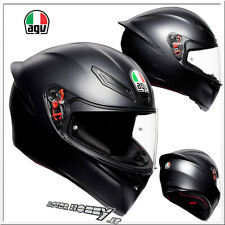 CASCO INTEGRALE STRADA AGV K1 E2205 SOLID MATT BLACK OPACO TAGLIA MS (57)