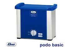 Elmasonic S Podo Basic Ultraschallbad mit Zubehör für die Fußpflege / Kosmetik