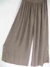 TIENDA HO~Warm Clay~MOROCCAN COTTON~Palazzo Pants~WIDE LEG~Free(L XL 1X 2X?)