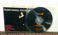 Eileen Farrell – Puccini Arias - LP 1960, Classical, Opera - NM Vinyl