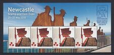 AUSTRALIA 2018 - War Memorial MINISHEET for NEWCASTLE Stamp and COIN EXPO MNH