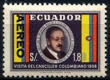 Ecuador 1958 SG#1106 Colombian Chacellor Visit MNH #D34506