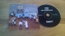 CD Indie I-Wolf - Burdy Meets The Babylonians (14 Song) Promo KLEIN REC cb