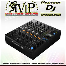 Pioneer DJM-750MK2 4-CH DJ Mixer w/ Club DNA, RekordBox DJ /DVS, Pro FX DJM-750.