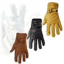 Australian Outback Leather Gloves comfortable no lining genuine cow leather