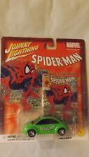 Johnny Lightning Spiderman # 1 '98 VW Beetle 1/64 Scale Diecast