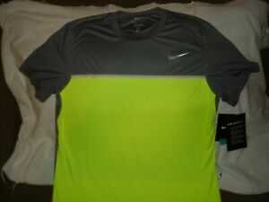 NWT Nike Court Challenger Premier ColorDry Tennis Crew Shirt 648240-065 Large