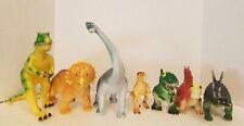 "Lot of 7 Dinosaur Figures Learning Resources Medium / Large size 6"" - 10"""