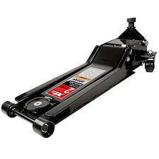 Arcan XL2T Black Low Profile Steel Service Automotive Floor Jack 2 Ton Capacity