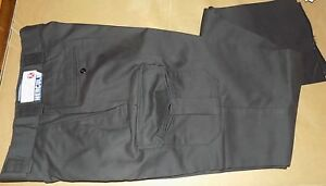Hercules Mens Black Uniform Pants/Trousers/Slacks w/Cargo Pockets_Police_EMT_EMS