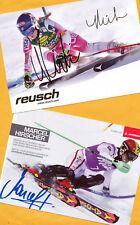Mikaela shiffrin-marcel hirscher - 2 top ak imágenes (1) - Print copies + 2 ak