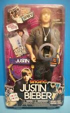 "NIB Justin Bieber Singing Doll ""BABY"" - 2010 Limited Edition - works perfectly"