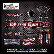Beta Evo 10-12 Top Trial Team Kit Black Decal Sticker Trials (732)