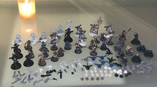 Chaos Space Marines - Cultists- World Eaters - Oop world eater shoulders Lot
