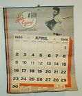 RARE 1950 BOSTON RED SOX / BRAVES BASEBALL CALENDAR FEATURING TED WILLIAMS NEAT!