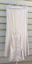 XCVI Ligh Lilac Shirred Back Long Skirt Sz S