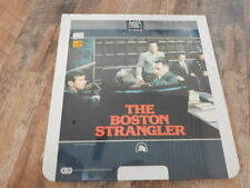 CED Videodisc 1982 The Boston Strangler STILL SEALED-Tony Curtis, Henry Fonda!