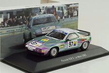 1983 Porsche 928 #97 24H le Mans Gonin LePage Boutinaud 1:43 Spark Musée