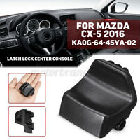 X AUTOHAUX KA0G-64-45Y-02 Black Center Console Latch Lid Lock Replacement for Mazda CX-5 2013-2017