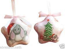 Personnalisé Première en bois de Noël Arbre Babiole Décoration Enfant Cadeau Mignon Star