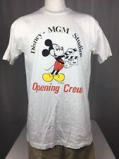 MGM Studios Opening Crew Shirt Walt Disney World Rare Vintage L Large