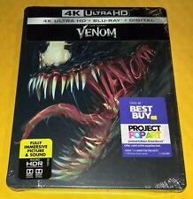 New Venom 4K Ultra HD + Blu-ray Steelbook™ Bestbuy Exclusive