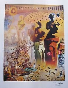 Salvador Dali HALLUCINOGENIC TOREADOR Limited Edition Signed Lithograph Art