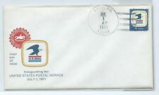 First day of Issue U.S. Mail stamp envelope sealed Gray, PA  8 cents