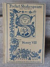 1901 HENRY VIII William Shakespeare Pocket Shakespeare Book Dana Estes & Co.