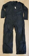 Genuine UKSF SAS RAF Black Flight Pilot Suit Dale Techniche Nomex Coveralls #1