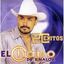 El Chapo De Sinaloa 20 Exitos CD Nuevo Sealed