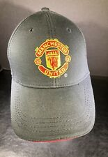 Vintage Official Manchester United Hat with Club Logo Adjustable