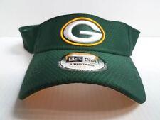 Green Bay Packers Visor Cap New Era Adjustable Green 2018 Training Hat