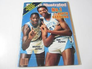 Sports Illustrated MICHAEL JORDAN on Cover (November 28, 1983) No Address Label