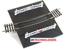 PECO ST-261 Curved 2nd Rad Single Track Level Crossing Gates '00' Gauge 1st Post