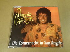 MAXI-CD / DENNIE CHRISTIAN - DIE ZOMERNACHT IN SAN ANGELO