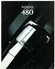 Volvo 480 1993-94 UK Market Sales Brochure Turbo ES S