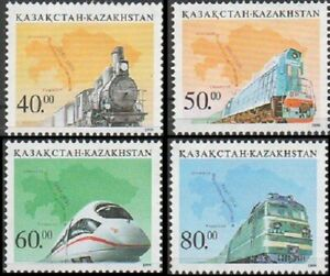 1999 Kazakhstan Railway Locomotives MNH