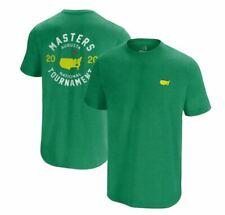 November 2020 Masters Golf Tournament Green Short Sleeve T-Shirt Size Medium