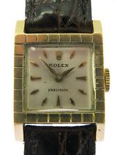 Rolex 18 Kt Oro da Donna Orologio da polso circa 50er anni
