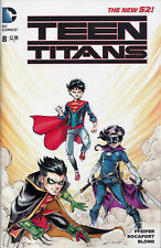 DC Teen Titans #8 Blank variant original Hit-Girl Kickass art by Andres Cruz