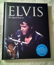 ELVIS - THE LEGEND LIVES ON BOOK - HARDCOVER - IGLOO BOOKS 2017