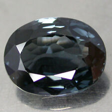 RARE! 3.12Cts. AWESOME COLOR BLUE 100%NATURAL UNHEATED SPINEL OV BURMA
